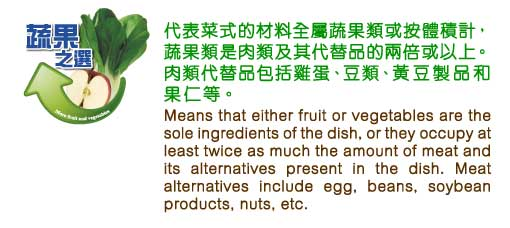 """More Fruit and Vegetables"" Dish